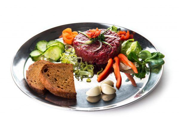 Tatarský biftek pro dvě osoby