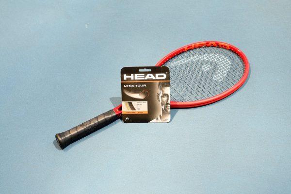 Vypletení tenisové rakety